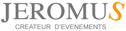 Jeromus Créateur d'évènements – Location de salle et traiteur Logo